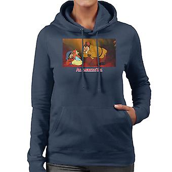 An American Tail Papa Talking To Tanya Women's Hooded Sweatshirt