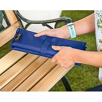 Blaue Faltung Outdoor wasserdicht Garten Camping Picknick Stadion Sitzmatte