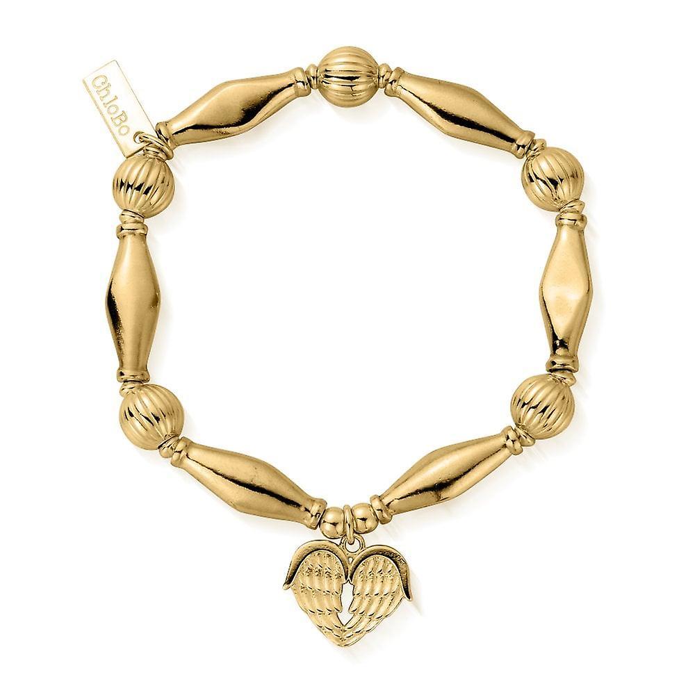 ChloBo Gold Heavenly Heart Bracelet