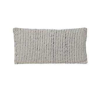 Light & Living Pillow 60x30cm Wovo Grey-White