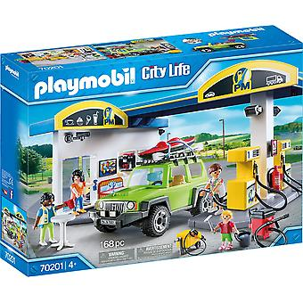Playmobil 70201 City Life Fuel-asema 168PC Playset