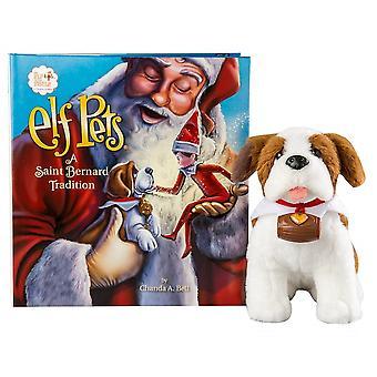 Elf On The Shelf Elf Pets -  Saint Bernard & Book
