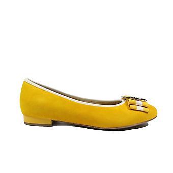 Ara Pisa 63361-73 Sun Yellow Womens Slip On Ballerina Pump Shoes