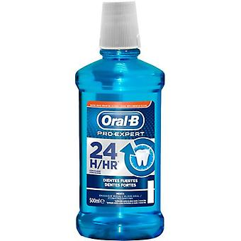 Oral B Enjuague Bucal Pro-Expert Dientes Fuertes 500 ml