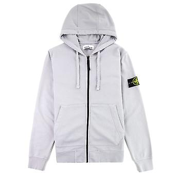 Stone Island 64251 Zip Sweatshirt Lilac V0064