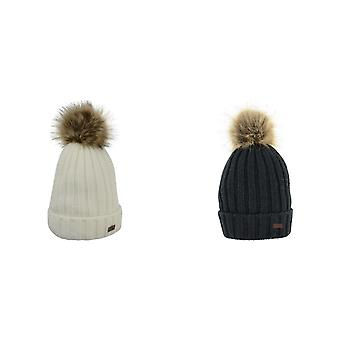 HyFASHION Adults Turin Bobble Hat