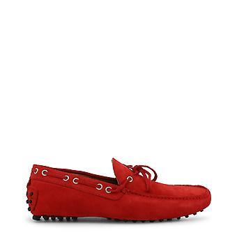 Made in Italia Original Men Spring/Summer Moccasin - Red Color 33591