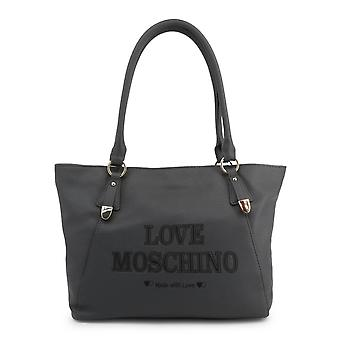 Love Moschino Original Women Fall/Winter Shopping Bag - Grey Color 37970