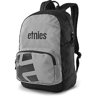 Etnies Locker Backpack in Black/Grey