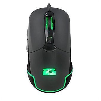 Led gaming mouse bg bghellcat 4800 dpi black
