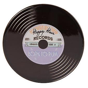 CGB Giftware Born to Rum Record Coaster