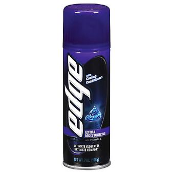 Edge shave gel, extra moisturizing with vitamin e, 7 oz
