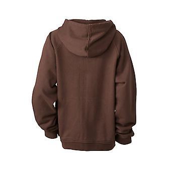 James en Nicholson Childrens/Kids Hooded Jacket