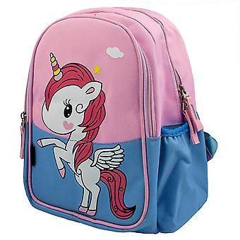 Backpack, Unicorn with Wings - Blue