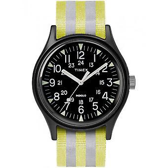 Timex мужские часы MK1 алюминия 40 мм Светоотражающий нейлона ремень TW2R81000