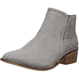 Madden Girl Women's Neville Ankle Boot Grey Paris 10 M US