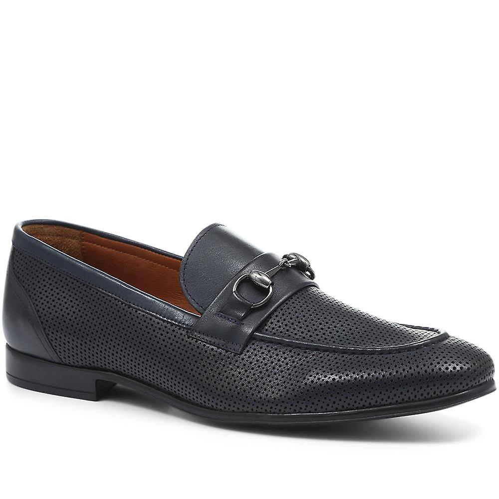 Jones Bootmaker Samuel Horsebit Leather Loafer