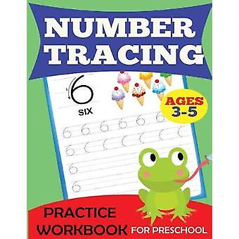 Number Tracing Practice Workbook by Dylanna Press