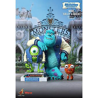 Mike and Sulley with Archie Vinyl Figure Set from Monsters University