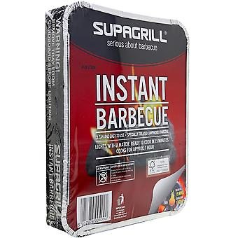 Supagrill Disposable Instant BBQ Outdoor Dining Garden