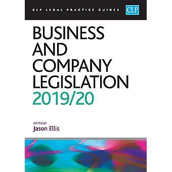 Business and Company Legislation 2019/2020 by Jason Ellis - 978191322