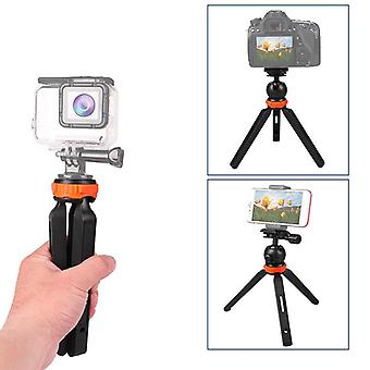Mini portable live camera tripod selfie stick stand handheld gimbal stabilizer for smartphones