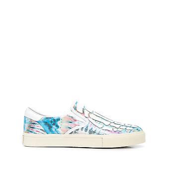 Amiri Y0f23420tdgtw Men's Multicolor Leather Slip On Sneakers