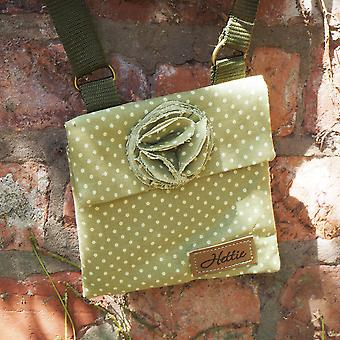 Imogen Children's handbag green spot