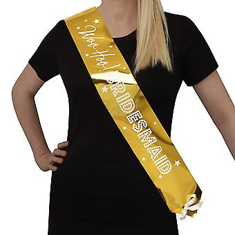 Woo hoo slepice do-Bridesmaid Sash-2 Pack