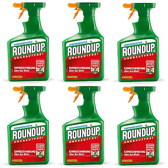 Sparset: 6 x ROUNDUP® AC, 1 litre