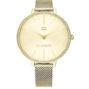 Tommy Hilfiger Watches 1782114 Women's Gold Mesh Strap Watch