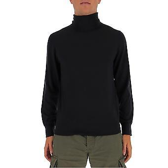 Z Zegna Vvm96zz120b09 Men's Grey Wool Sweater