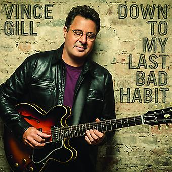 Vince Gill - Down to My Last Bad [CD] USA import