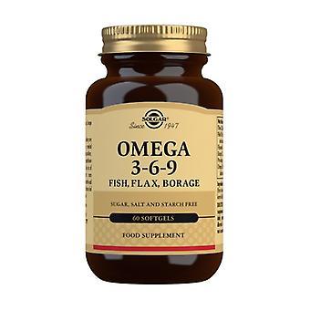 أوميغا 3 6 9 60 كبسولة
