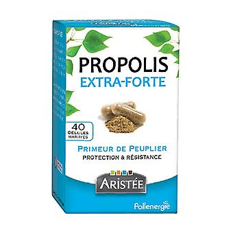 Poplar extra strong propolis 40 capsules of 200mg