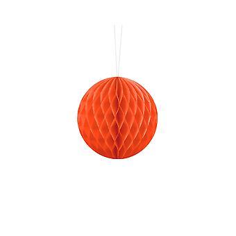 10cm oranssi pehmopaperi hunajakenno pallo häät puolue koristelu