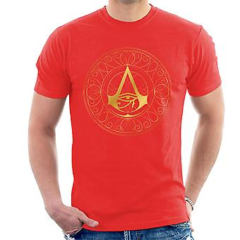 Assassin's Creed Origins Golden Circular Helix Men's T-Shirt