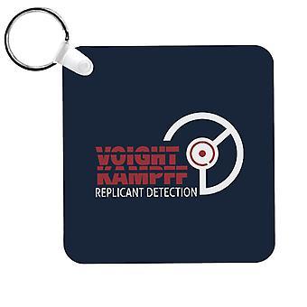 Voight Kampff Replicant Detection Bladerunner Keyring