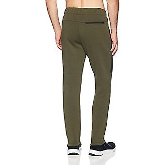 Peak Velocity Men's Metro Fleece Straight-Fit Sweatpant, vert forêt, Petit