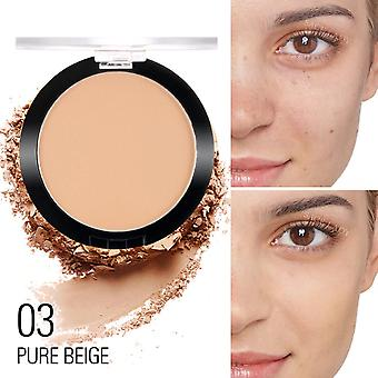 Compact Powder Oil Control - Matte Makeup Setting Pressed Powder, Pores