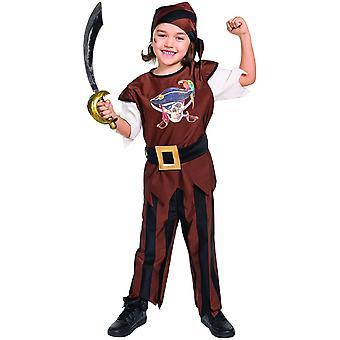 Pirat Kinder Kostüm Seeräuber Piratenkostüm Freibeuter Kapitän