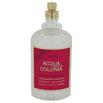 4711 Acqua Colonia Pink Pepper & pamplemousse Eau De Cologne vaporisateur (testeur) par Maurer & Wirtz 5,7 oz Eau De Cologne Spray
