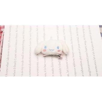 1pc Lovely Cartoon Melody Pudding Cinnamoroll Hund docka - Hår rep hårnål för flicka