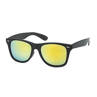 Gafas de sol Unisex Wayfarer verde/negro (20-187)