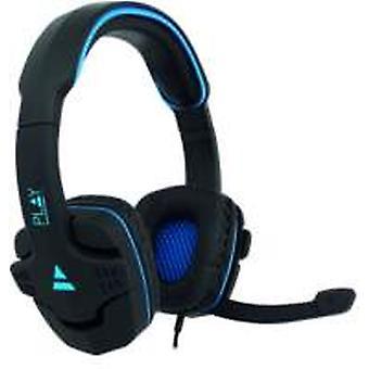 Ewent PL3320 hoofdtelefoon/headset Hoofdband Zwart