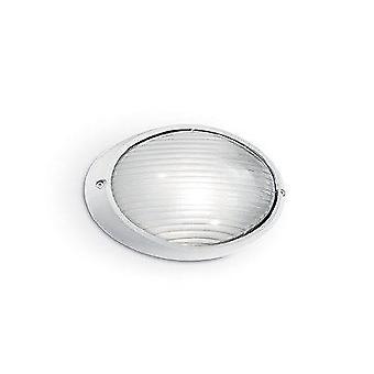 Ideal Lux Mike - 1 Leve Parede Pequena Parede Leve Branca IP65, E27