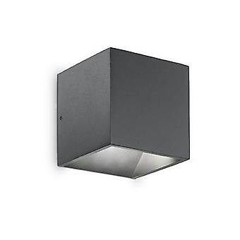 LED 1 Light Outdoor Up Down Wall Light Anthracite IP44