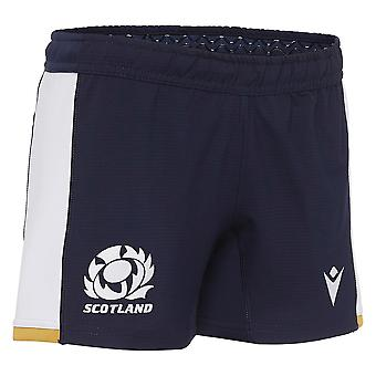 Macron Scotland Rugby Junior Alternate Replica Shorts | Navy | 2020/21