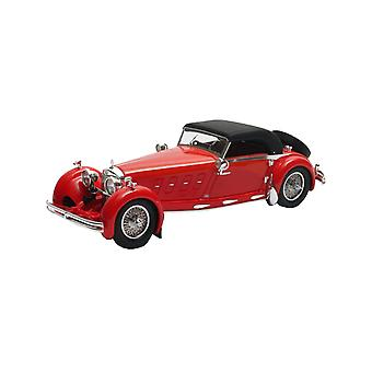 Mercedes Benz 680S Armbruster Closed Cabriolet (1929) Resin Model Car