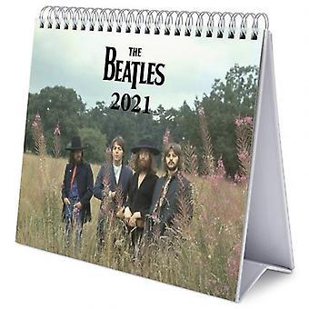 The Beatles Desktop Calendar 2021
